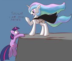 Twilight Skywalker and Darth Celestia