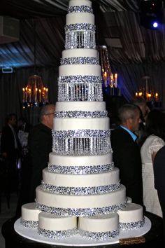 Bling Wedding Cake I Wish