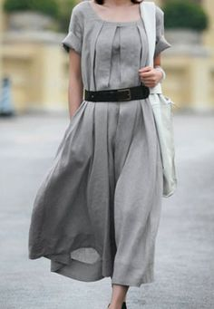 The beauty of a neutral like gray.