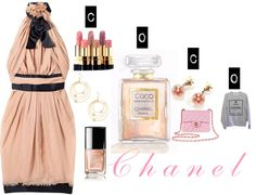 Chanel, created by sarahtheginger on Polyvore