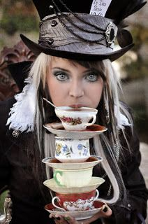 A Sophisticate is a Mad Hatter: In the end, a sophisticate can go crazy wearing different imaginary hats and juggling situations to succeed in her professional and personal life. In the most successful and fashionable sense of the phrase, a sophisticate is a mad hatter ;D