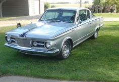 1965 plymouth barracuda formula s. why am i attracted by this car ?