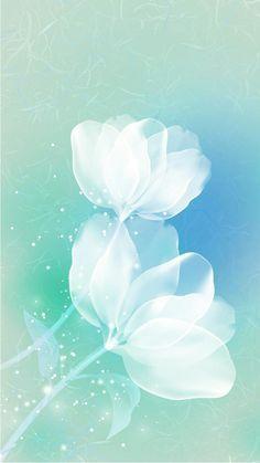 Wallpaper flowers blue floral 23 new ideas Wallpaper Flower, Blue Wallpapers, Cute Wallpaper Backgrounds, Trendy Wallpaper, Pretty Wallpapers, Flower Backgrounds, Galaxy Wallpaper, Colorful Wallpaper, Cellphone Wallpaper