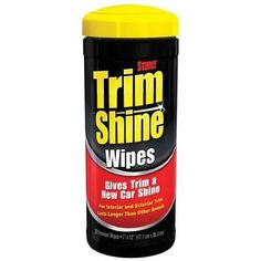 Stoner Car Care Trim Shine Protectant Wipes - 28 Count 90034