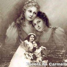 Maria Goretti, St Therese Of Lisieux, Joan Of Arc, Santa Teresa, Catholic Saints, Sisters, Faith, Traditional, Flower