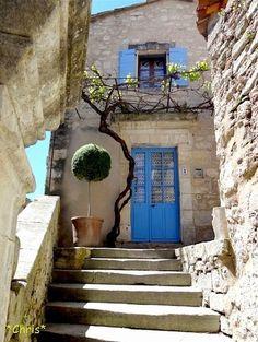 L'escalier à Lacoste, Provence, France