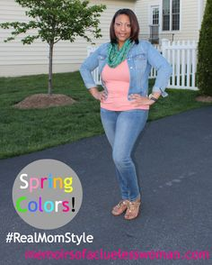 Real Mom Style: Spring Colors #RealMomStyle #Spring #Fashion