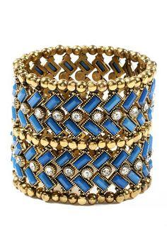 Thompson Street Stretch Bracelet by Amrita Singh on @HauteLook