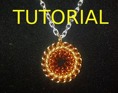Chainmaille Pendant Tutorial