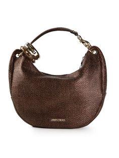 e9b6964bd6c5 Jimmy Choo  solar  Shoulder Bag - Vitkac - Farfetch.com Leather Shoulder Bag
