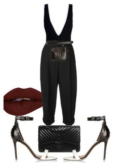 """Untitled #3231"" by ma-rae ❤ liked on Polyvore featuring Givenchy, Dolce&Gabbana and Chanel"