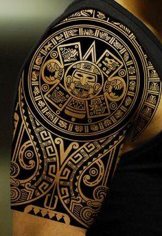 Las 66 Mejores Imágenes De Tatuajes Mayas En 2019 Mayan Tattoos