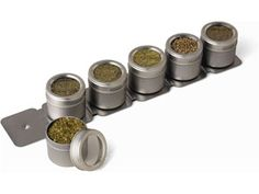 6-bottle Magnetic Spice Rack by M. Kamenstein, Inc by M. Kamenstein, Inc. at Cooking.com #holidaycooking