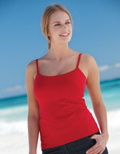 Lightly Padded Underwired Strappy Top by Bravissimo in Red Available in sizes 32-38 D cup; 30-38 DD - H cup; £34.00