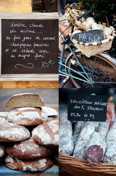 Sarlat farmers' market by cannelle-vanille, via Flickr