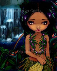 Amara - Strangeling: The Art of Jasmine Becket-Griffith