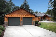 Superior Detached Garage Design Software #detachedgarageelectricalpanel Grey Garage  Doors, Garage Entry Door, Garage Exterior