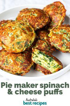 Tasty Vegetarian Recipes, Vegetable Recipes, Healthy Recipes, Mini Pie Recipes, Quiche Recipes, Breakfast Recipes, Snack Recipes, Cooking Recipes, Snacks