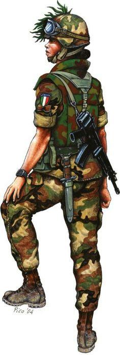 18° reggimento Bersaglieri caporale Kosovo 2002 - pin by Paolo Marzioli