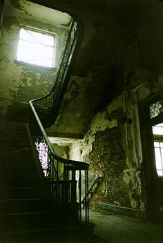 Kingston City Hall staircase, Kingston, NY
