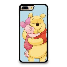 WINNIE THE POOH AND PIGLET iPhone 4/4S 5/5S 5C 6/6S 6/6S 7/7S Plus SE