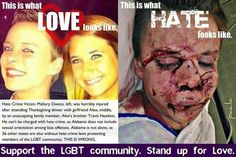 STOP THE HATE!! This breaks my heart... :'(