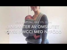 6b27358aea1 Vävd bärsjal  Omslutet kryss (FWCC) och varianter med nyfödd