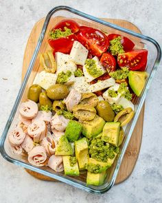CleanFoodCrush Caprese Turkey Salad Lunchboxes