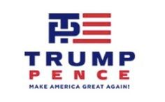 Twitter users stick it to Trump over new campaign logo     - CNET  Technically Incorrect offers a slightly twisted take on the tech thats taken over our lives.  What do you see here?                                              Screenshot by Chris Matyszczyk/CNET                                           When the rumor spread that Donald Trump would choose Indiana Governor Mike Pence as his presumptive veep the wags came out on Twitter.   Perhaps the most elegantly literary remark came from…