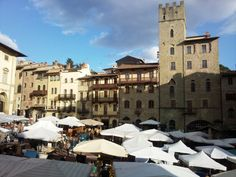Piazza Grande #arezzo #arezzomania #tuscanystyle #toscana #toscanaforever