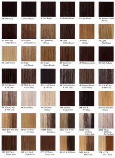 Best Hair Color Charts | fall hair colors | Pinterest | Hair ...