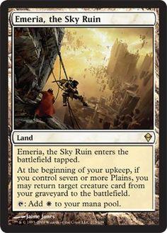 Magic: the Gathering - Emeria, the Sky Ruin (213) - Zendikar by Wizards of the…