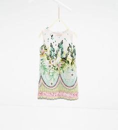 Leaf print dress-View All-DRESSES AND JUMPSUITS-GIRL | 4-14 years-KIDS | ZARA United States