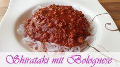 Jeannette's Low Carb Rezepte: Shirataki mit Bolognese