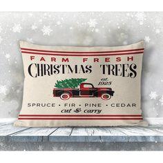 Bungalow Rose Tulsa Handmade Tufted Wool Brown Rug & Reviews | Wayfair Christmas Farm, Fresh Christmas Trees, Christmas Pillow, Brown Rug, Cushion Pads, Outdoor Throw Pillows, Pillow Covers, Area Rugs, Sports Teams