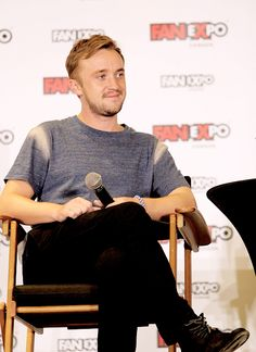 """Tom Felton - Don't try to overthink it. Don't try to be too self-critical and kind of just go out there and enjoy it. Usually 9 times out of 10, if you're having fun, it comes across as pretty natural. But saying that, when I watch my stuff back, I thought it was horrendous. I saw Chamber of Secrets the other day and it started– """"oh my god"""". - Tom Felton, on acting (Fan Expo 2015)"""