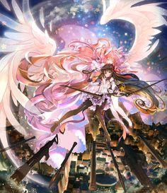 puella magi madoka magica - Page 2 Manga Anime, Art Anime, Fanarts Anime, Anime Artwork, Anime Art Girl, Anime Characters, Madoka Magica, Magical Girl, Kawaii Anime