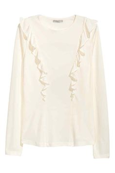 Frilled top | H&M