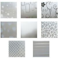 Frosted Privacy Frost Glass Window Film Sticker Bedroom Bathroom Home Decor 2m | eBay Bathroom Window Privacy, Bathroom Window Glass, Frosted Glass Window, Privacy Glass, Bathroom Windows, Diy Curtains, Curtains With Blinds, Home Office Decor, Home Decor