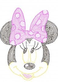 minnie mouse String Art Templates, String Art Patterns, Quilt Square Patterns, Square Quilt, Dot Art Painting, Fabric Painting, Rhinestone Art, Button Art, Disney Crafts