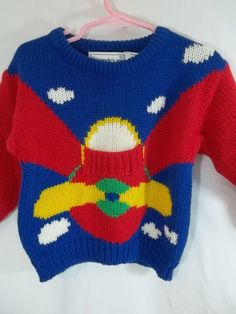 The Eagle's Eye Boys Sweater Size 3T NWT Front Pocket Propellar  #TheEaglesEye #Pullover #Everyday