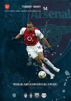 He is soooo good at maintaining and catching the ball. My favorite player. Arsenal Fc, Arsenal Sport, Team Player, Soccer Players, Monaco, Ny Red Bulls, Dennis Bergkamp, Thierry Henry, Arsene Wenger