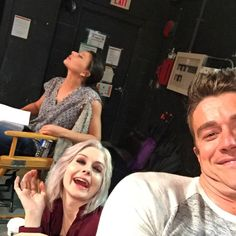 iZombie- where beauty meets brains. And chins, lots and lots of chins. #nofilter