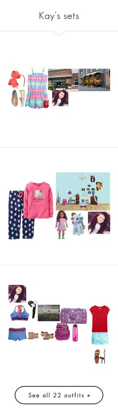 """""""Kay's sets"""" by thecollinfamily ❤ liked on Polyvore featuring Carter's, My Little Pony, Capezio Dance, Vera Bradley, NIKE, J.Crew, Bloch, Disney, Topshop and Victoria's Secret"""