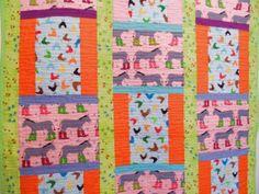 Quilt Baby Size  Quilt Handmade  Quilt Animals   by Fiberartplus, $40.00
