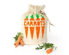 KAROTTEN: Eco freundliche Hanf Bio-Baumwolle wiederverwendbare Tragetasche. Frisches Obst und Gemüse Lagerung Sack. Handgefertigte Küche Haushaltswaren. Lagerung von Lebensmitteln.