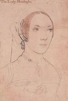 Hans Holbein the Younger | Portrait of Lady Monteagle