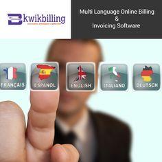 Multi Language #Billing & Invoicing #Software - #KwikBilling