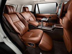 Luxurious Land Rover interior design