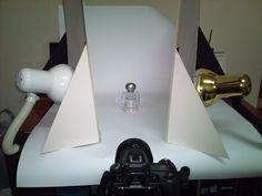 DIY product photography setup for smaller budget and setup.